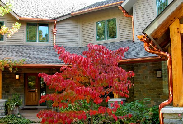 Premium Copper Gutters